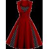 Vintage Polka Dot - Dresses - $25.00