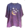 Vintage Stars and Moon T-Shirt - T-shirts -