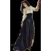 Vintage dress model - Pessoas -