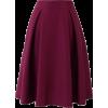Violet Midi Skirt - 裙子 -