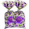 Violet in a flower print fabric sachet - Items -