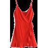 V-neck high waist tie with polka dot chi - Dresses - $27.99