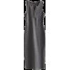 V-neck multi-buckle side slit dress - Dresses - $25.99