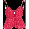 V-neck printed sling knotted with floral - Koszulki bez rękawów - $25.99  ~ 22.32€