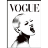 Vogue sign - Background -