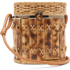 WAI WAI Bongo bamboo and wicker basket b - Hand bag -