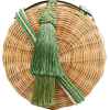 WAI WAI RIO PETIT BALAIO GREEN - Messenger bags -