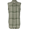 WALES BONNER plaid sleeveless shirt - Košulje - kratke -