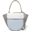 WANDLER Hortensia medium color-block lea - Torebki - $855.00  ~ 734.35€