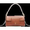 WANDLER brown leather bag - Hand bag -