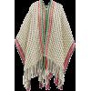 WEHVE  Ava striped wool-blend cape - Jacket - coats -