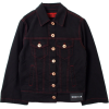 WENDY JIM  Jeans Jacket/black with red s - Jakne i kaputi -