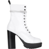 WHITE HEAVY TREAD HEELED BOOT - Botas - $595.00  ~ 511.04€