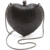 WHITING DAVIS heart clutch - Borsette -