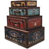 WHW Whole House Worlds Traveler trunks - Items -
