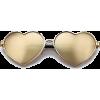 WILDFOX heart shaped sunglasses - Sunglasses -