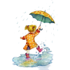 Walking In The Rain - People -