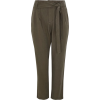 Wallis - Petite khaki paper bag trousers - Capri & Cropped - £10.00  ~ $13.16