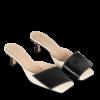 Wandler ISA KITTEN BUTTERCREAM BLACK - Sapatos clássicos -