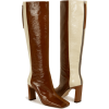 Wandler ISA LONG BOOT TAN SHADES - Botas -