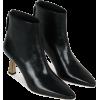 Wandler LINA BOOT BLACK KHAKI - Boots -