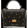 Wandler Luna Mini Stud-Embellished Leath - Hand bag - $710.00