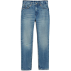 Washed Blue Jeans - Jeans -