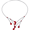 Water Drops Choker Necklace - Necklaces -