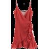 Wavelet Point Mummy Sling Dress - Dresses - $27.99