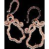 Wavy Antiqued Earrings - Серьги - $60.00  ~ 51.53€