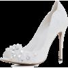 Wedding Shoes With Flower Crystals - Klasyczne buty - $74.50  ~ 63.99€