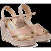 Wedge Sandal - 坡跟鞋 -
