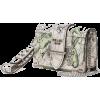 White Illustrated  Mini Bag - Torebki -