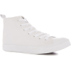 White Primark High Top Trainer - Sneakers -