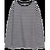 White. Black. Shirt - Camisas manga larga -