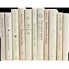 White. Book - Furniture -