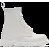 White. Boots - ブーツ -