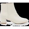 White. Boots - Botas -