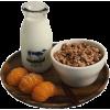 White. Brown. Orange - Food -