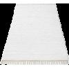 White. Carpet - Furniture -