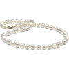 White Freshwater Pearl Necklace - Necklaces -