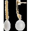 White. Gold. Pearl - Orecchine -