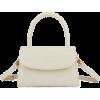 White. Hand bag - Carteras -