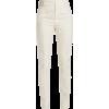 White. Pants - Capri & Cropped -