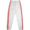 White. Red. Pants for sport - Spodnie Capri -
