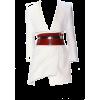 White. Red - Vestidos -