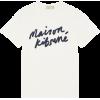White. Shirt - T-shirt -