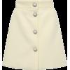 White. Skirt - Saias -