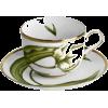 White Tulips Teacup - Predmeti -