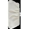 White - Borse con fibbia -